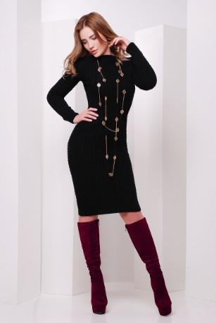 Подобные товары-8 Женского облегающего платья приталенного вязаного Крис-1
