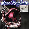"""Світиться брелок - """"Rose Keychain"""" + подарункова упаковка"""