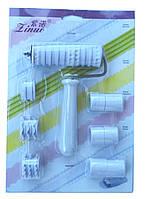 Кондитерский валик  (наборной узор) для нарезки теста / мастики