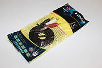 Аудио кабель 2RCA - 3.5 мм в пакете 1.5m Качество
