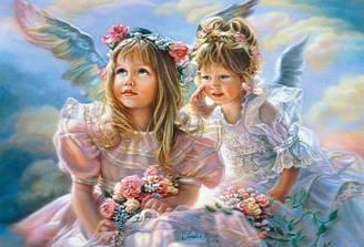 Пазлы Castorland Ангелочки В-51762, 500 элементов