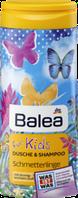 Гель для душа - шампунь детский Balea Бабочки 300мл. Балеа для девочек