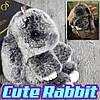 """Брелок Зайчик - """"Cute Rabbit"""" - 14 див."""