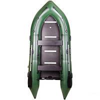 Моторная надувная шестиместная килевая лодка Bark BN-390S. Доставка бесплатно!