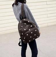 Красивый школьный рюкзак с ромашками
