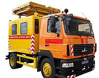 Машина аварийная АТ-70М-041 на базе МАЗ