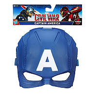 Маска Капитана Америки из фильма Первый мститель: Противостояние. Оригинал Hasbro