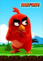 "Магнит сувенирный ""Angry Birds"" 33"