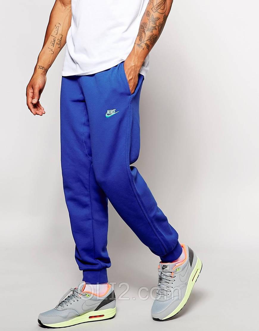 Спортивные трикотажные брюки мужские NIKE на манжете