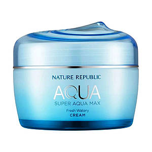 Крем для жирной кожи Nature Republic Super Aqua Max Fresh Watery Cream, 80 мл