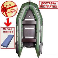 Моторная  шестиместная надувная килевая лодка Bark BT-360S. Доставка бесплатно!