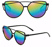 Женские солнцезащитные очки, Кошачий Глаз, Радуга