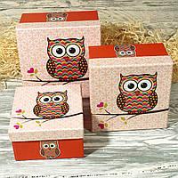 Подарочная коробка 1611 #2 (3 шт. в комплекте)