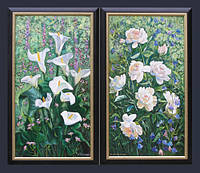 Картина «Квітучий сад»