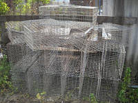 Клетка для перевозки животных 80х40х25 (ячейка 25х50)