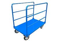 Ручная платформенная тележка для длиномерных грузов РПТ-008Д- 160М