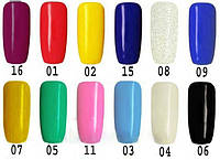 Гель-краска для рисования на ногтях с тонкой кистью
