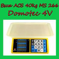 Весы ACS 40kg/5g MS 266 Domotec 4V