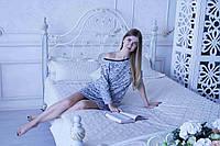Женская ночная рубашка с длинным рукавом. Турецкий хлопок. размеры S M L
