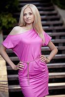 Яркое молодежное мини платье. Платье Неона.