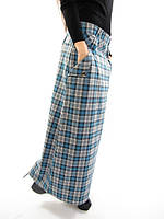 Длинная женская юбка Тартан