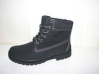 Термоботинки черные термо ботинки Timberland Тимберленд 36 -40