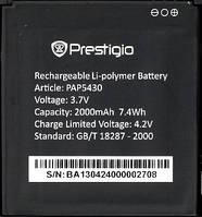 Оригинальная батарея Prestigio PAP5430