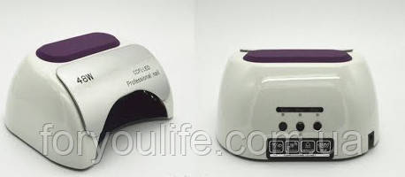 Лампа для гель-лака на 48 вт LED + CCFL таймер 10,30,60 сек. Высокое качество