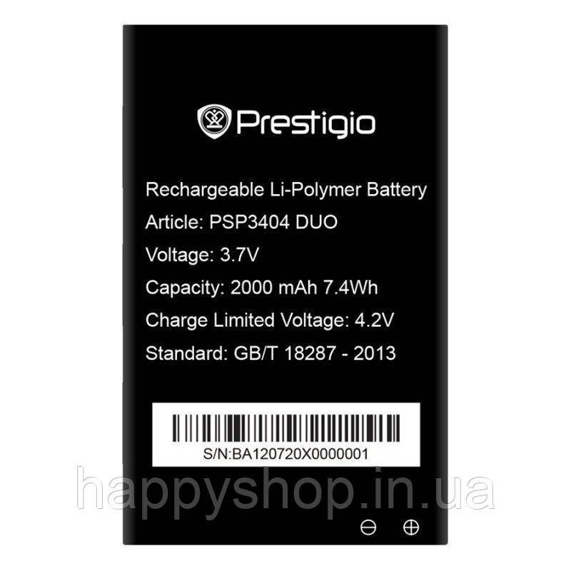 Оригинальная батарея Prestigio PSP3404