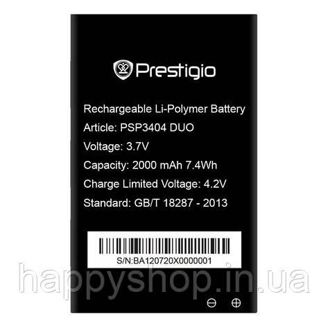 Оригинальная батарея Prestigio PSP3404, фото 2