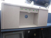 Кухонная гранитная мойка BLANCO ALAROS 6S  с разделочной доской (песочный)