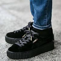 0fc79a4a80f7 Оригинальные женские кроссовки Puma x Rihanna Velvet Creepers