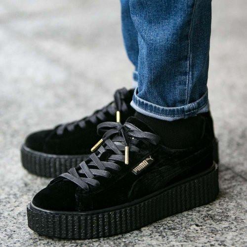 72059b6c61ba Оригинальные женские кроссовки Puma x Rihanna Velvet Creepers