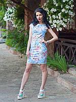 Нарядное женское платье жаккард
