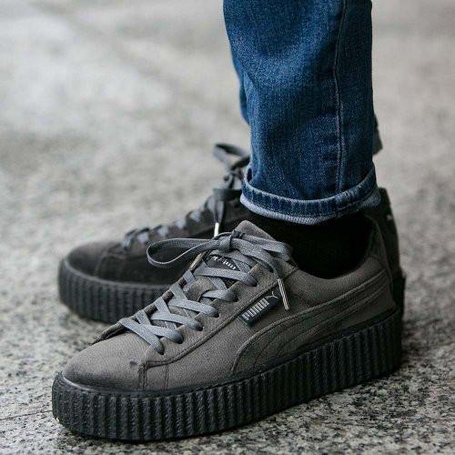 88a737536527f8 Оригинальная женская обувь Puma x Rihanna Velvet Creepers