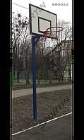 Стойка баскетбольная уличная с щитом 1200х900мм