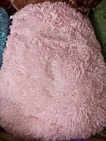Меховое одеяло покрывало с длинным ворсом евро размер