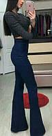 Ультрамодные джинсы клеш