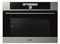 Духовой шкаф с микроволновкой Gorenje GCM712X