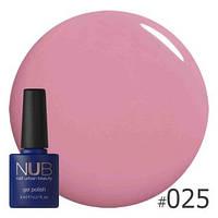 Гель-лак для ногтей NUB 025