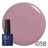 Гель-лак для ногтей NUB 058