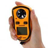 Цифровой анемометр Benetech GM8908 ( TAM817 ) ( 0,7-30м/с) (шаг измерения - 0,1 м/с) с измерением температуры, фото 3