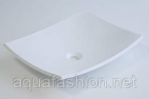 Накладна раковина чаша 476х370 Fancy Marble NATURA