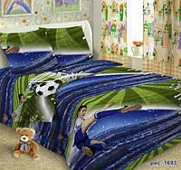 Комплект детского постельного белья  Форвард в детскую кроватку  поплин