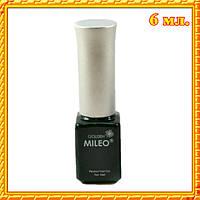 003 Темно - зеленая Гель - Краска Mileo, с тонкой кисточкой, 6 мл.