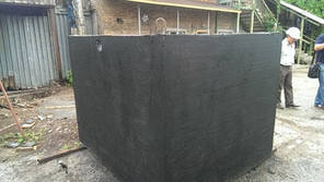 Септик бетонний монолітний 3куб.м, 1-камерний