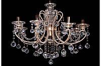 Люстра хрустальная на девять ламп LS5418-8+1