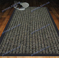 Коврик грязезащитный Широкий рубчик, 40х60см., коричневый