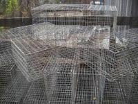 Клетка для перевозки птицы 80х40х25 (ячейка 25х25)