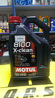 Масло моторное MOTUL 8100 X-CLEAN 5W40, 4 л